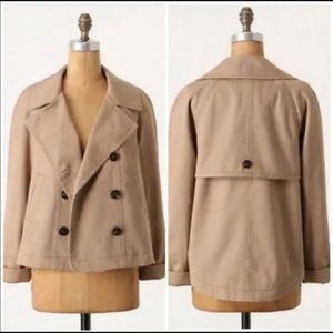 Anthro Daughters of a Liberation Colchester Coat